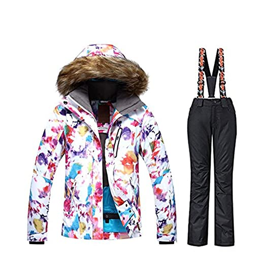3a46d8b681 Image Unavailable. Image not available for. Color  GS SNOWING Women s  Snowboarding Jackets Ski Snow Coats and Pants