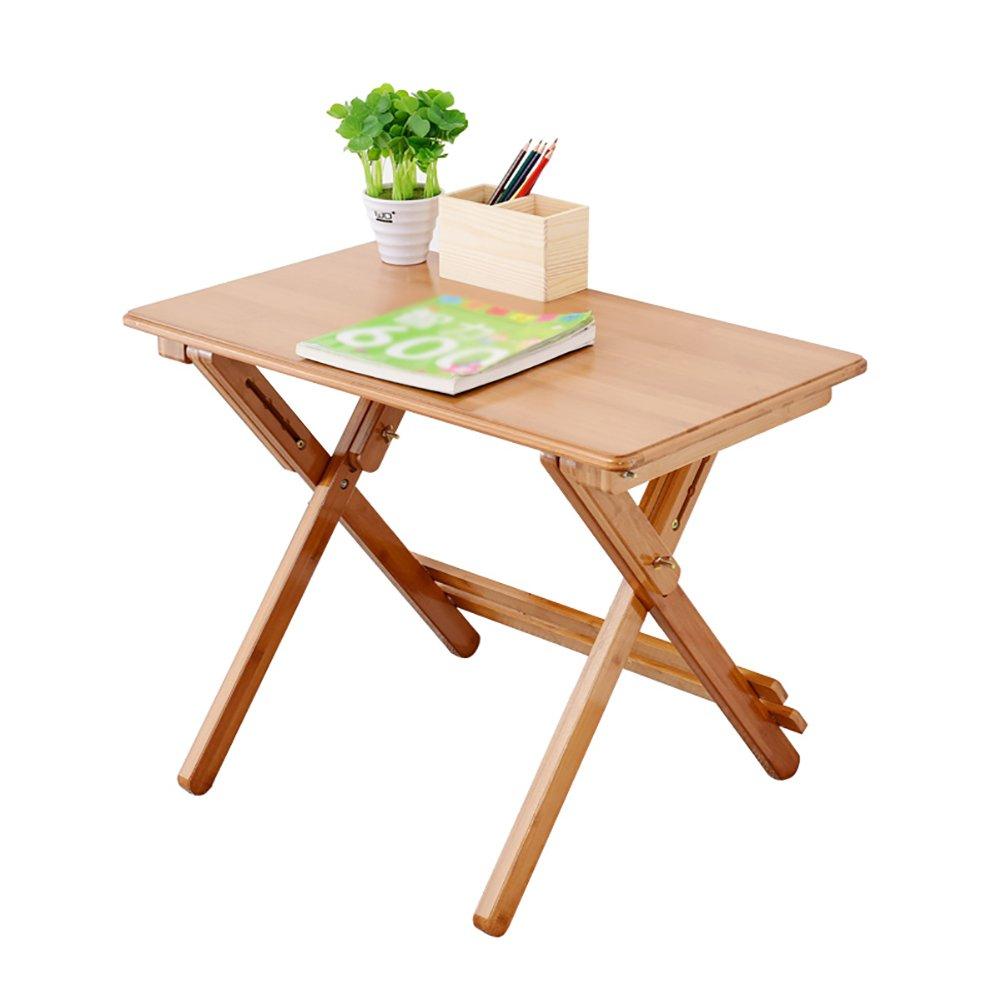 折り畳みテーブル& 竹子供用デスク調節可能な小さなダイニングテーブルライティングデスク屋内のストレートエッジ (サイズ さいず : 70*40cm) B07DZJ4BZW 70*40cm 70*40cm
