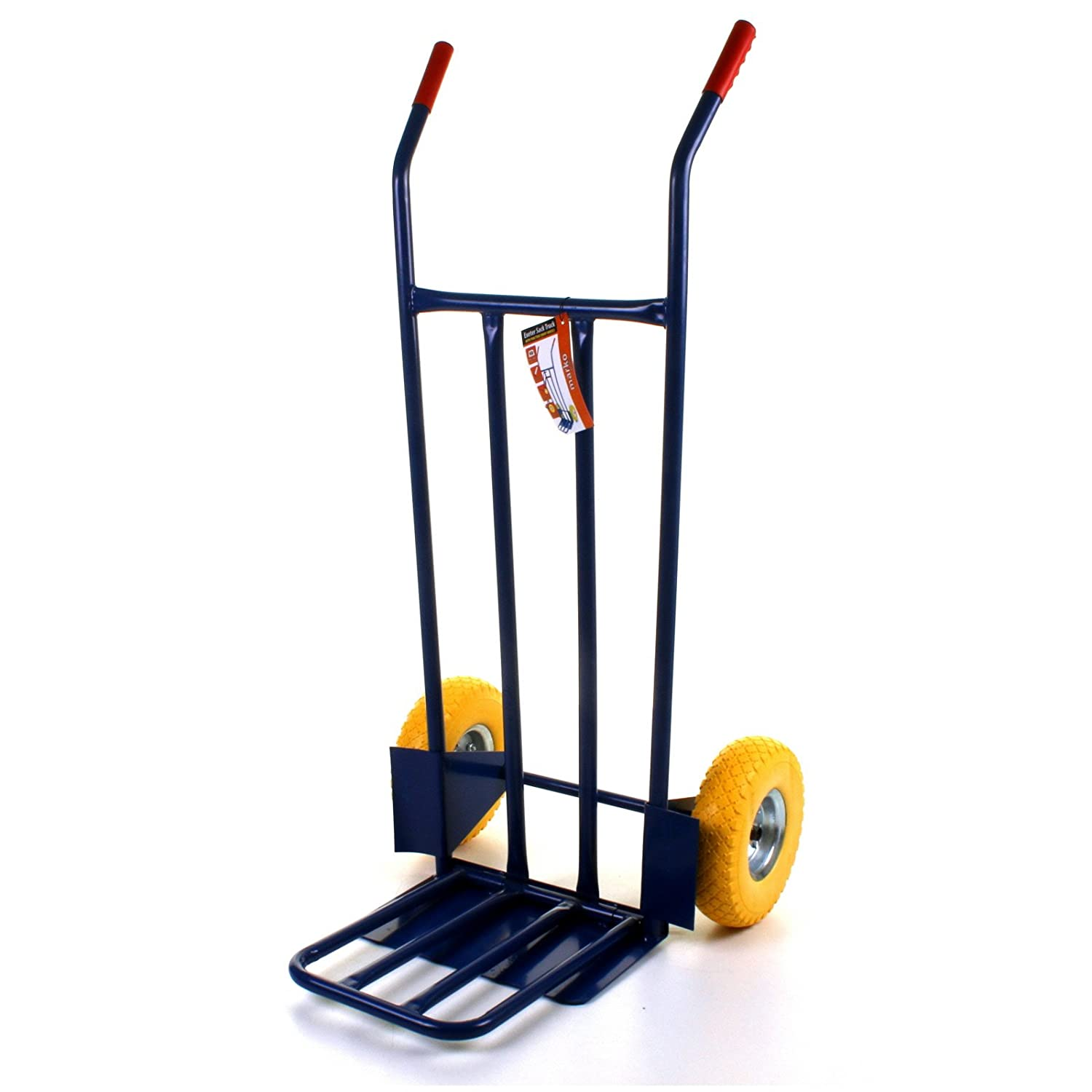 Marko Tools Exeter 600LB Sack Truck Heavy Duty Industrial Hand Trolley Warehouse Puncture Proof MTL-SKTRE