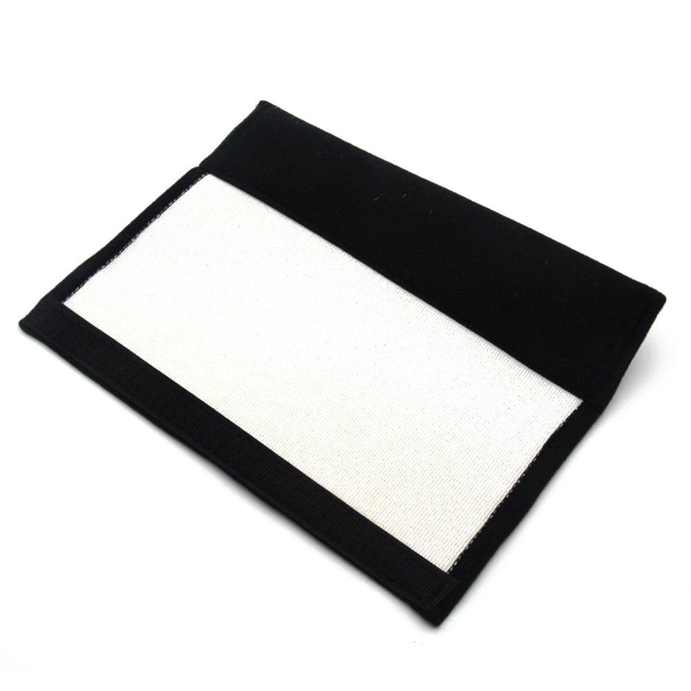 Misshaoyunperfect ABARTHCars 1 par Insignia bordada para cintur/ón de seguridad con cierre de velcro