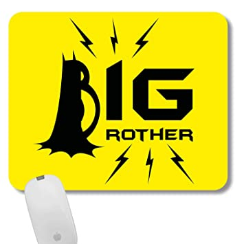 Funky Store Big Brother Printed Rubber Base Mousepad As Birthday