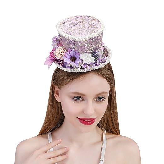 Amazon.com  SRY-Caps Kentucky Derby Mini Top Hat 4c43756997a