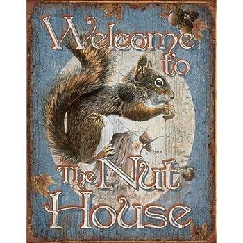 Amazon tsn1824 brk nut house welcome sports outdoors tsn1824 brk nut house welcome sciox Images