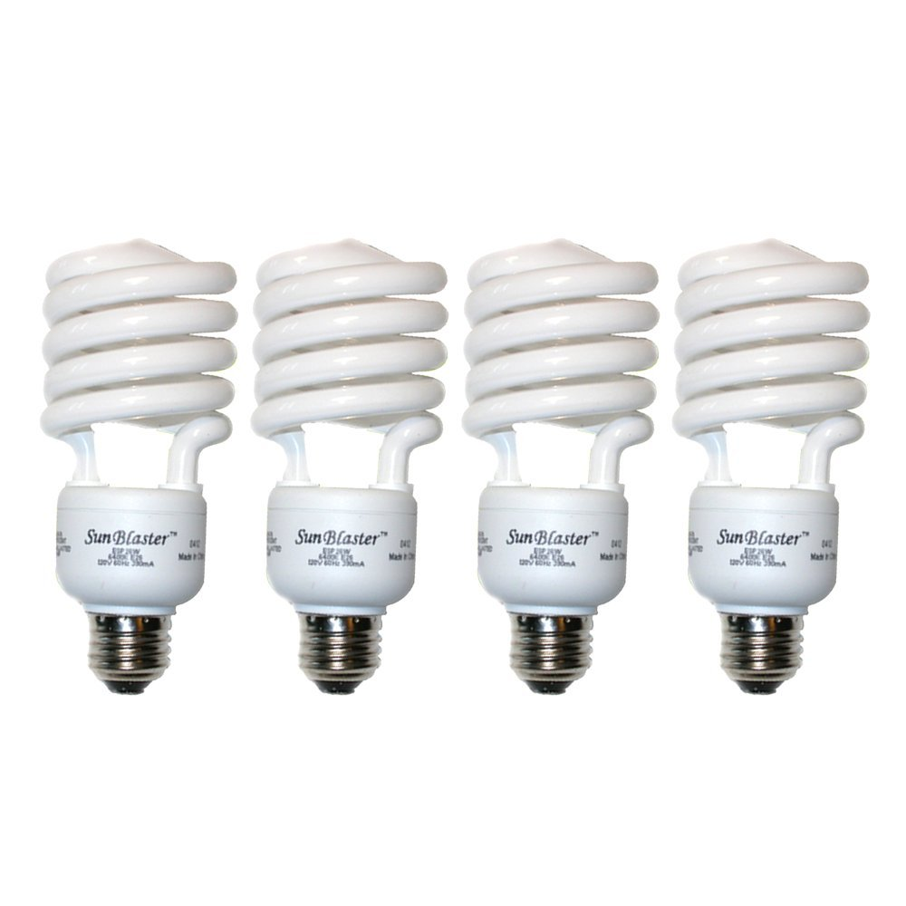 SunBlaster CFL Grow Lamp 26 Watt (26 Watt - 4 Pack)