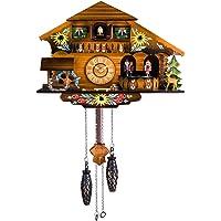 Kintrot Reloj de cuco Black Forest House Chalet