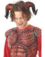 California Costumes Men's Demon Horns W/Teeth Costume Accessory