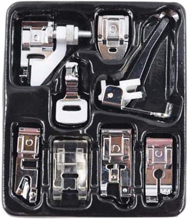 Kit de prensatelas Healifty para máquina de coser, prensatelas ...