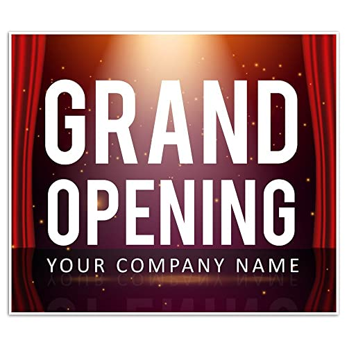 amazon com grand opening new business window display retail large
