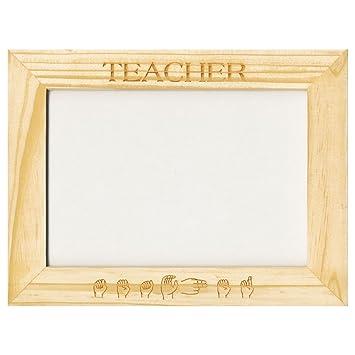 Amazon.com: Custom-Made Pinewood Picture Frames - Teacher: Health ...