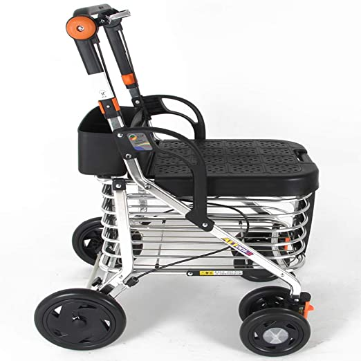 LLCC Carro portátil, Carro de Compras, Andador, diseño ...
