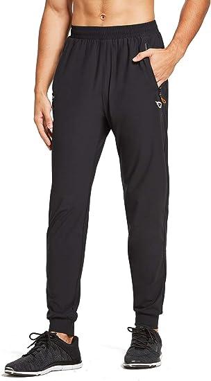 Amazon Com Baleaf Evo Pantalones Ligeros Para Correr Entrenamiento Atletismo Gimnasio Ajuste Seco Bolsillos Con Cremallera Clothing