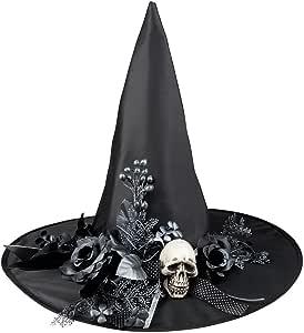 mágica Clown – Disfraz de mago sombrero de bruja de