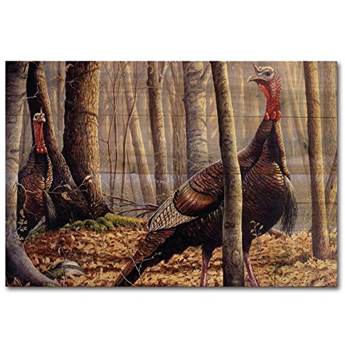 WGI-GALLERY WA-FCT-2416 First Call Turkey Wall Art