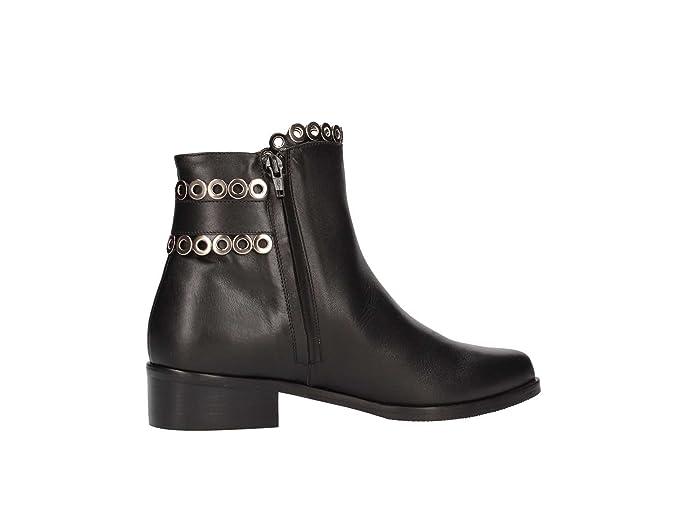 Albano 7054 Botines bajos Mujer negro 36: Amazon.es: Zapatos y complementos