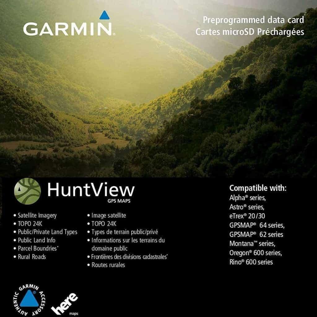 Garmin Huntview Map Card (Nebraska)