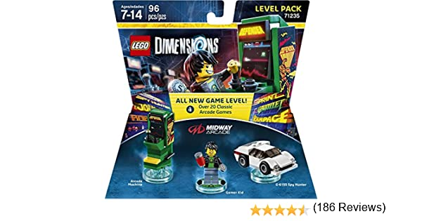 Midway Retro Gamer Level Pack - Lego Dimensions by Warner Home ...