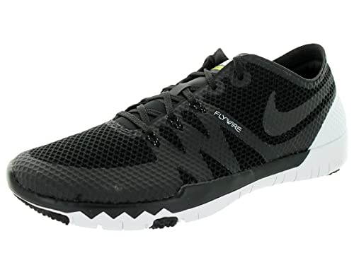 timeless design 2abd2 81ee2 Nike Mens Free Trainer 3.0 V3 Training Shoe Black  Black  White 8 D(M)  US Buy Online at Low Prices in India - Amazon.in