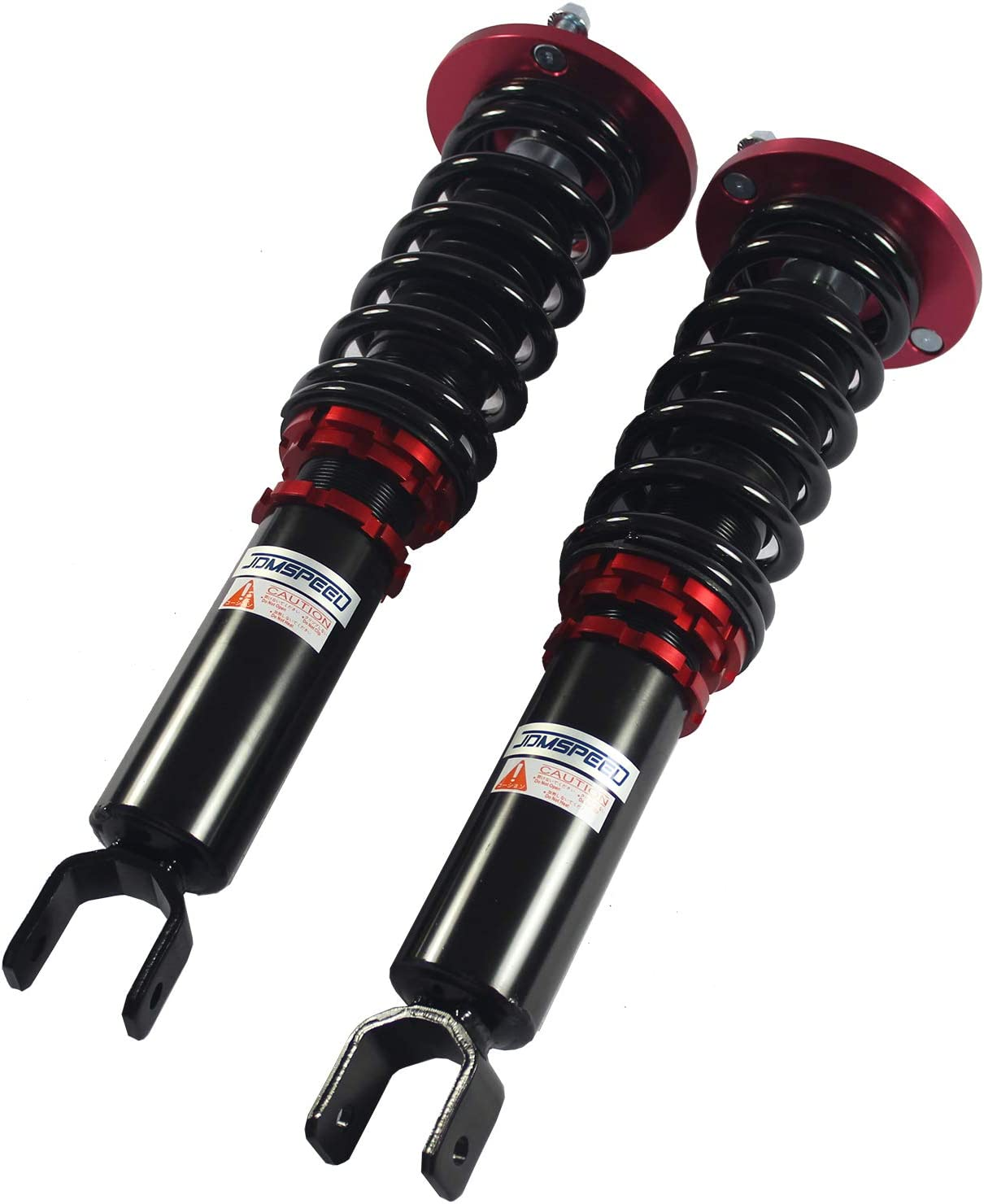 JDMSPEED New Coilovers Suspension Kit Shock Absorbers Set Red Fit For Honda Accord 1990-1997