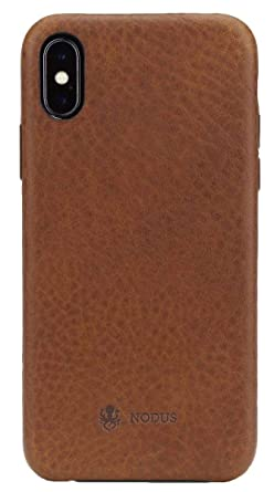 best cheap e096d 3dafe Nodus Shell Case II for iPhone (iPhone X/XS, Chestnut Brown)