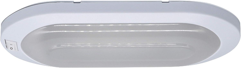 Facon 12V 6W LED Helle Pfannkuchen Deckenleuchte Innenbeleuchtung mit ON//OFF-Schalter f/ür Camper Wohnmobil Wohnwagen Anh/änger Boot Marine und Fahrzeug