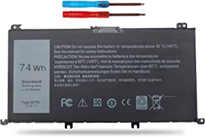 Vinpera 74Wh 357F9 Battery Replacement for Dell Inspiron 15 7000 7559 I7559 7557 7567 7566 7759 15 5576 5577 INS15PD Series 71JF4 P57F P65F P65F001 0GFJ6