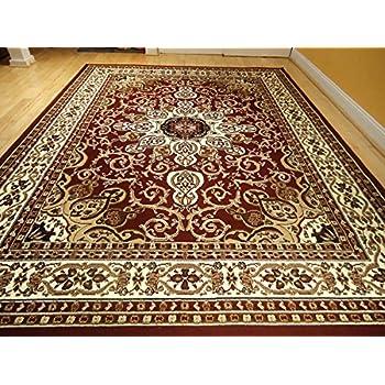 Amazon Com Area Rug Traditional Persian Design 8x11 Rug
