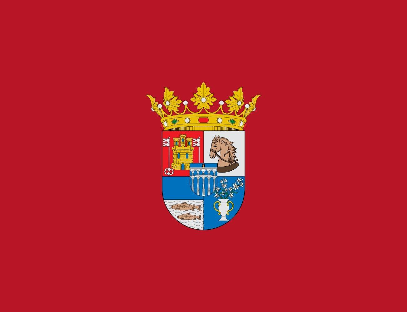 magFlags Bandera Large Segovia Province | Provincia de Segovia ...