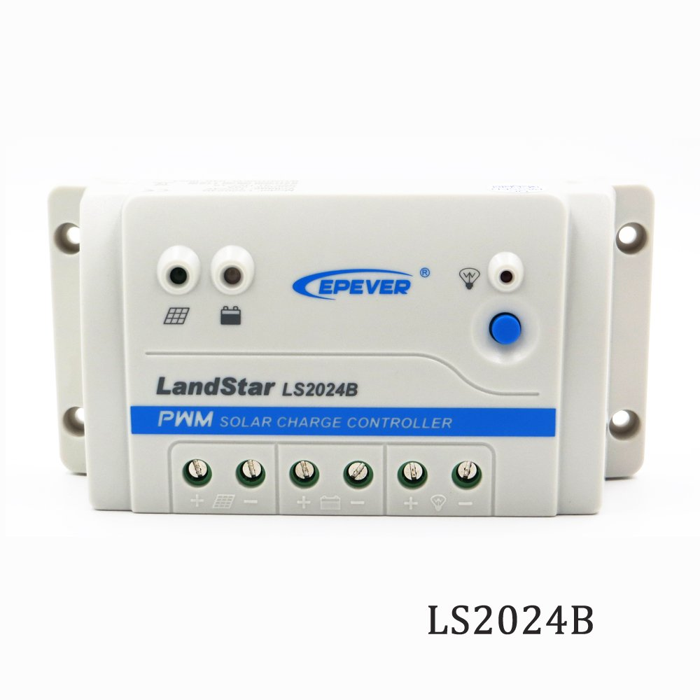 EPEVER Landstar LS1024B LS2024B LS3024B 10A 20A 30A 12V 24V EP Landstar Programmable Solar Charge Controller Charger Regulators (LS1024B) EPSOLAR