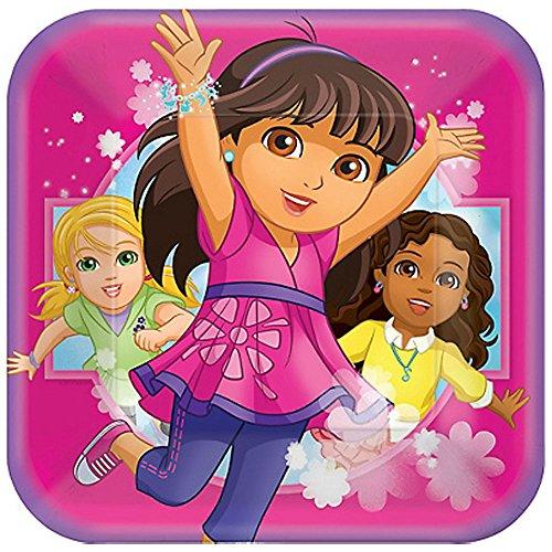 Dora the Explorer 'Dora and Friends' Large Paper Plates (8ct)