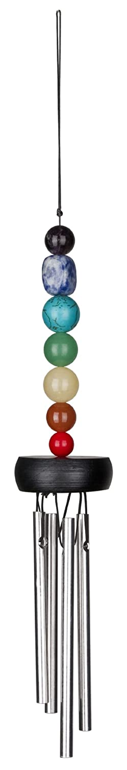 Woodstock Chimes Pocket Chakra Windchime, 11-3/4-Inch Long Woodstock Chimes - CA PC7