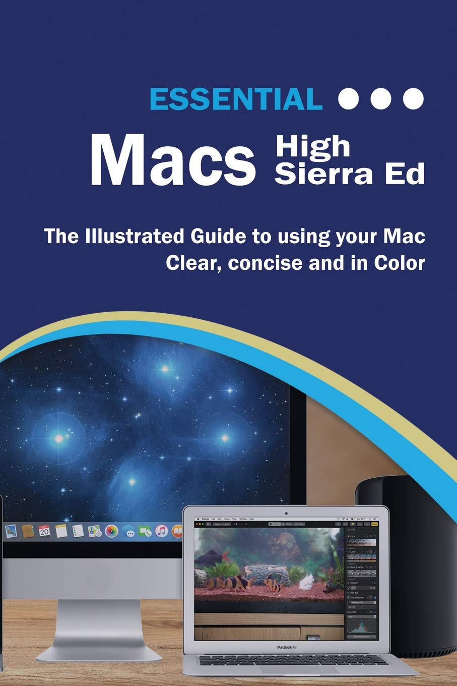 Essential Macs High Sierra Edition: The Illustrated Guide to Using your Mac Computer Essentials: Amazon.es: Wilson, Kevin: Libros en idiomas extranjeros