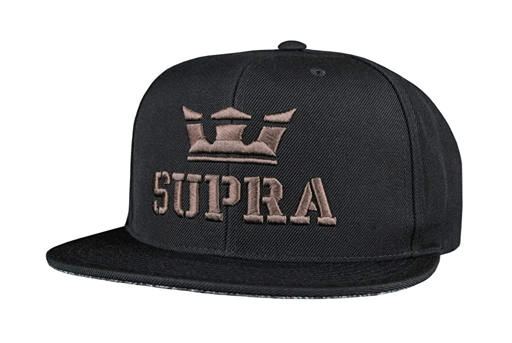 Supra Cap Above Snap Black Grey, One Size: Amazon.es: Ropa y ...