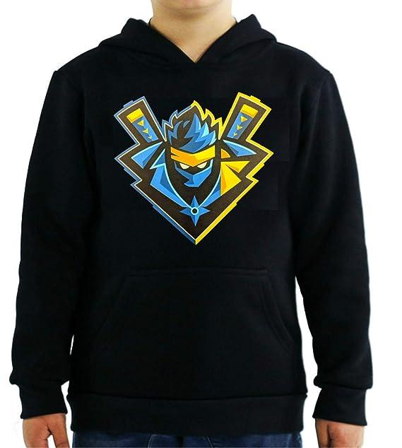 Custom Swagg FRNT Ninja Logo Youth Black Hoodie at Amazon ...