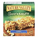 Nature Valley Sweet and Salty Cashew, 5-Count, 160 Gram