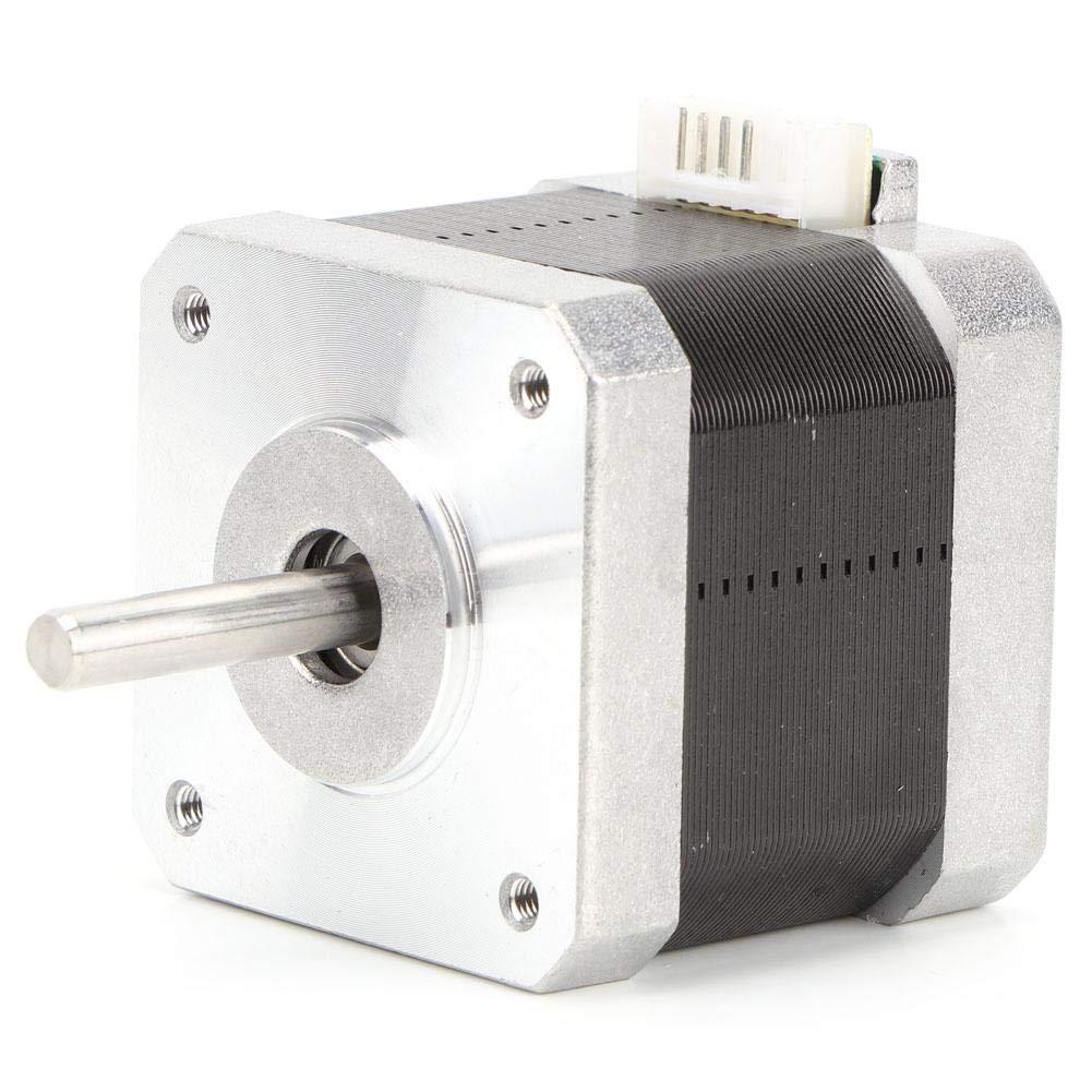 24V//1.5A Nema 17 Motor paso a paso de 2 fases 0.4 NM 1.8 /° Motor paso a paso de control industrial para equipos de control de automatizaci/ón industrial Motor paso a paso de control industrial
