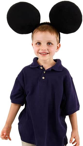 Big Disney Mickey Mouse diadema con orejas de disfraz para adulto ...