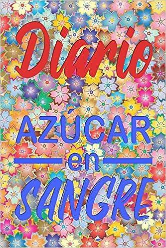libro diario de azúcar en la sangre de diabetes
