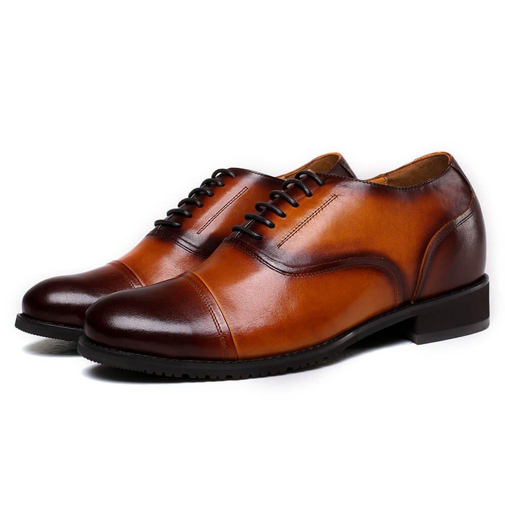 CHAMARIPA 252H11-1 Men's Height Increasing Elevator Dress Shoes Oxford 2.56'' Taller US 10 by CHAMARIPA (Image #3)