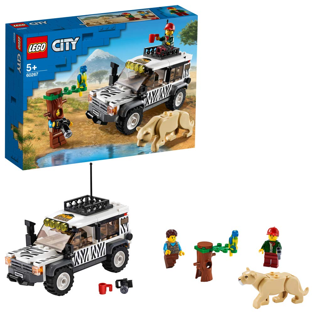 レゴ(LEGO) シティ サファリのオフローダー 60267