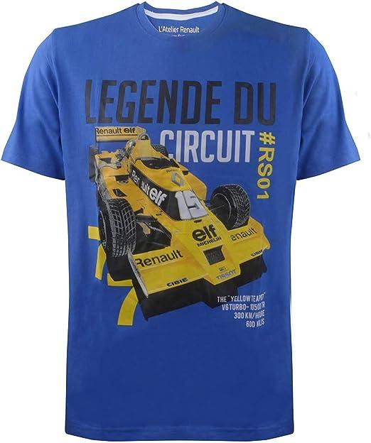Renault F1 Team - Camiseta para hombre, modelo Legend RS#01 1977, color amarillo: Amazon.es: Ropa y accesorios