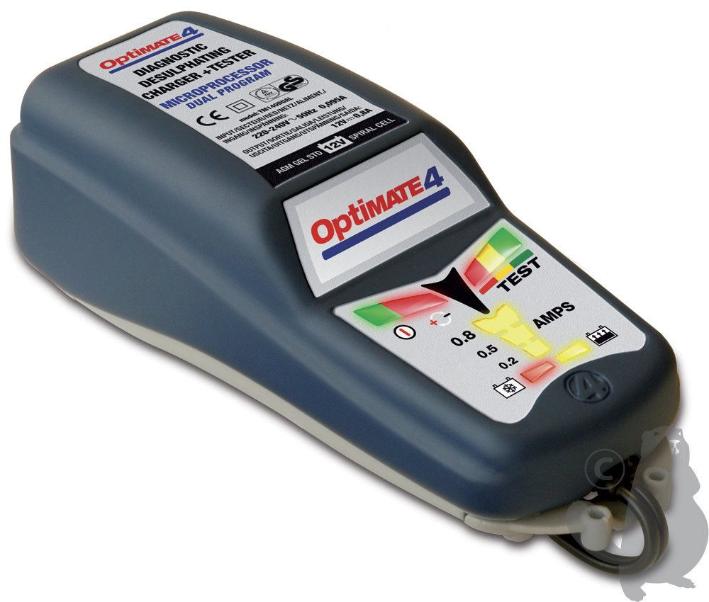 OPTIMATE 4 Batterie Ladegerä t Duo Can Bus Tecmate Optimate4