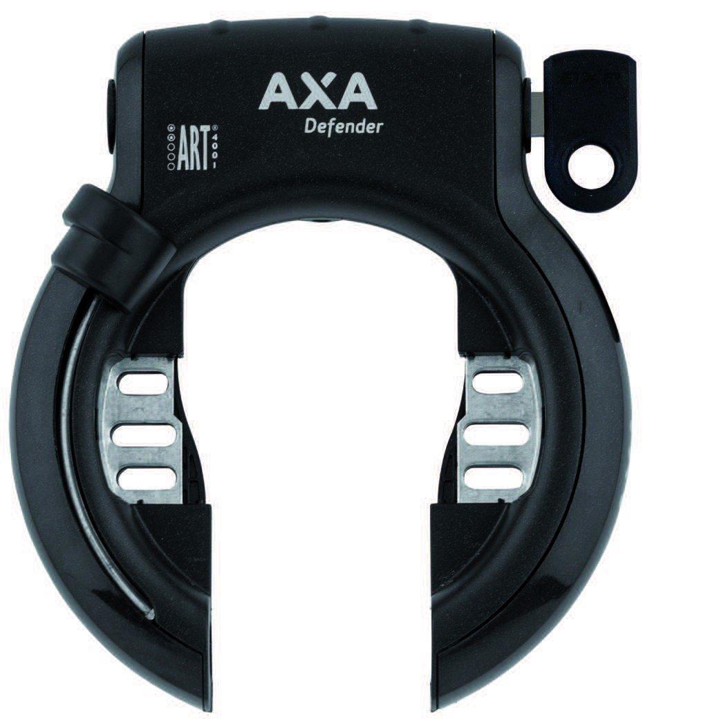 AXA Rahmenschloss DEFENDER RL schwarz: Amazon.de: Sport & Freizeit