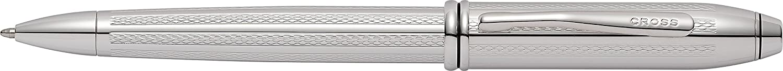 Cross Townsend Lustrous Chrome Fountain Pen 536-Fs with Stainless Steel Medium Nib