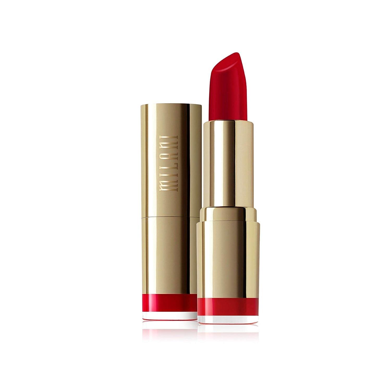 Milani Color Statement Lipstick - Best Red, Cruelty-Free Nourishing Lip Stick in Vibrant Shades,Red Lipstick, 0.14 Ounce
