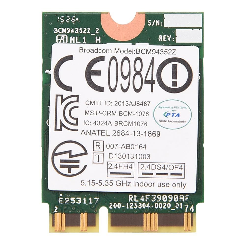 Fosa BCM94352Z NGFF 802.11ac Dual Band Wireless WIFI Card Module for Lenovo Y50-70 Touch 04X6020 by fosa
