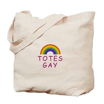 ddc2af8a370f Amazon.com  CafePress - Totes Gay - Natural Canvas Tote Bag