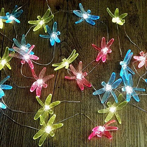 Dragonfly Led String Lights Multi