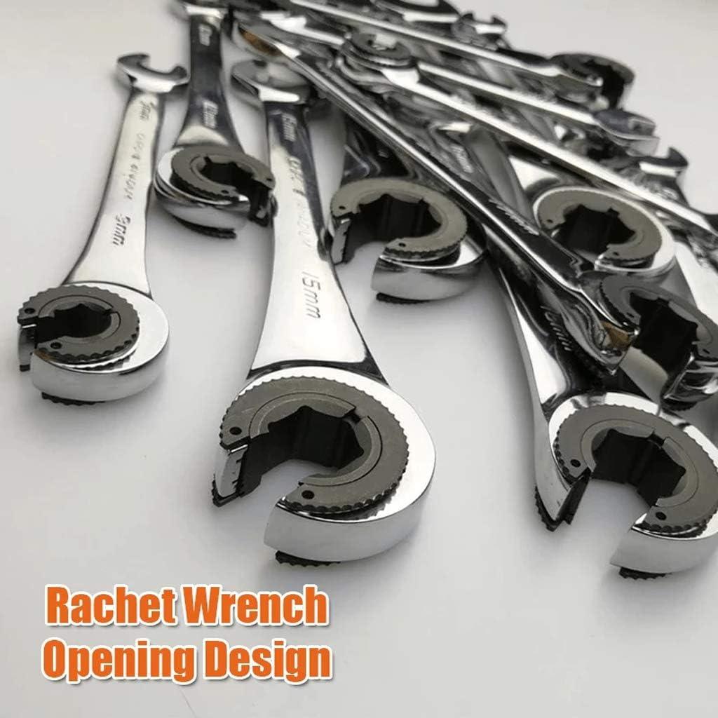 Rabbuffetti Wrench 10x11 chrome tube
