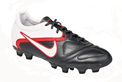 58057ae49d9e93 Nike Mens Ctr360 Libretto Ii Fg Soccer Shoes Cleats - Black White Red (
