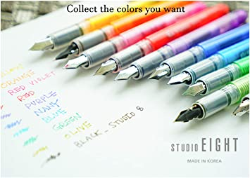 Lamy Safari Fountain Design Pen Series EF Nib Dark Matte Business Ink Pens Lilac